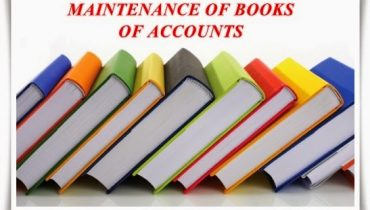 Importance of Maintaining books of accounts