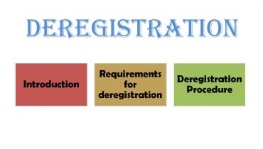 VAT De Registration – Requirements and Procedures